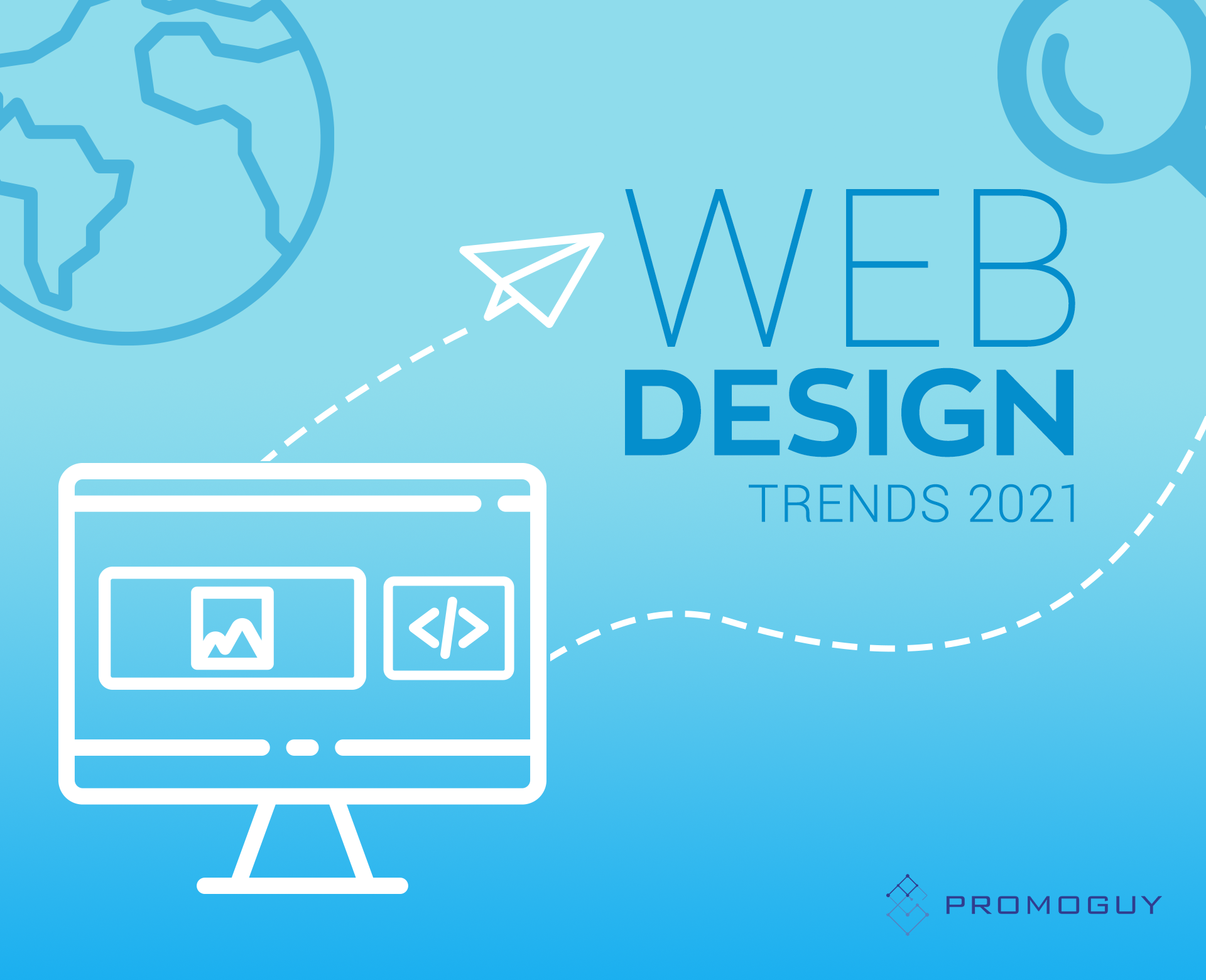 Web Design Trends For Sprucing Up Your Site in 2021